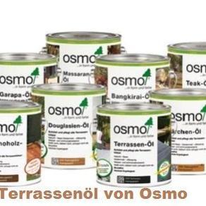 Terrassenöle Osmo