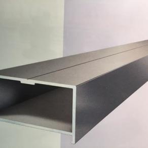 Isostep - Base Aluminium Unterkonstruktion Silber