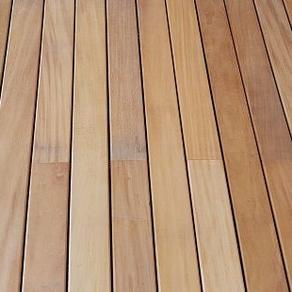 Terrassen - gefertigt aus dem Holz Garapa