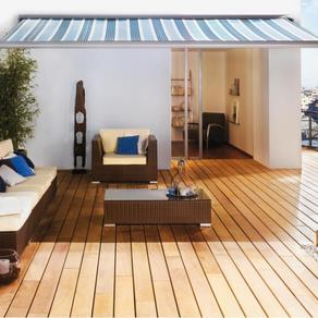 Terrassen - gefertigt aus dem Holz Garapa 1