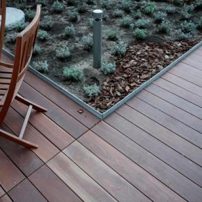 Holzterrassen - Holzmaterial Cumaru