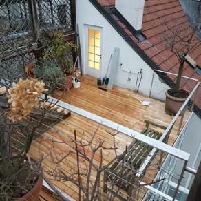 Lärche Dachterrasse